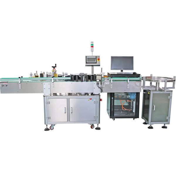 Automatický rotační etiketovací stroj s kuželovými lahvemi s hroty