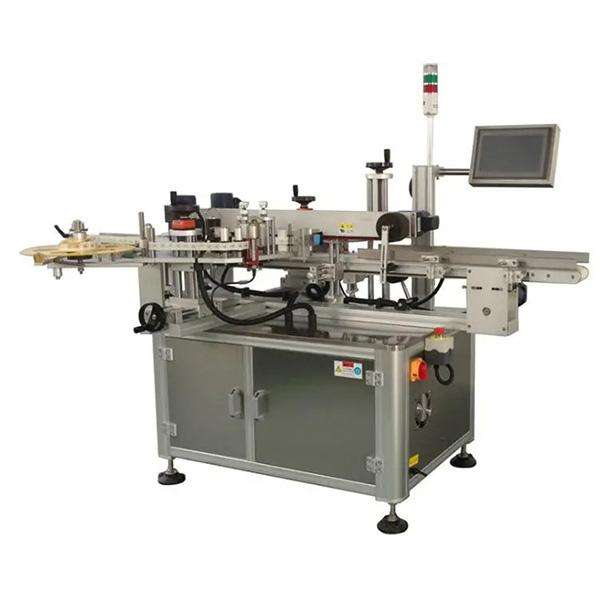 Automatický etiketovací stroj s kartonem - etiketovač s jednou nebo dvěma stranami