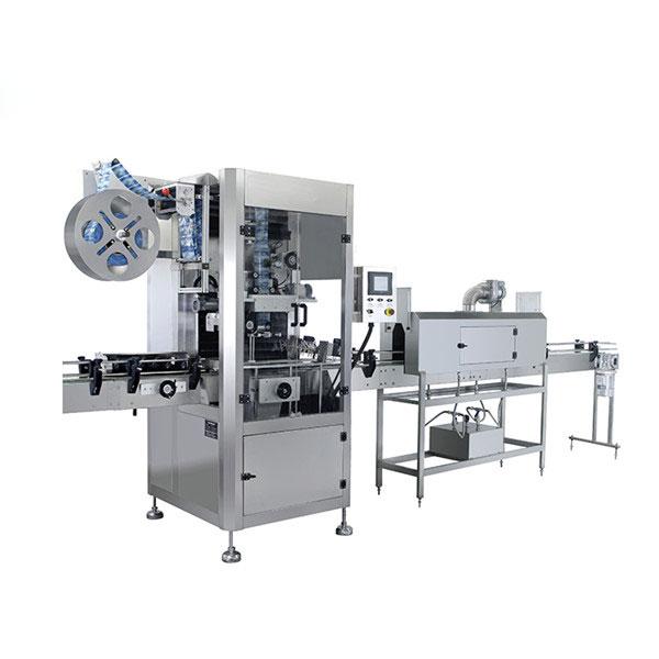 Automatický smršťovací etiketovací stroj na lahve z PVC