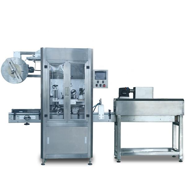 Automatický smršťovací stroj na označování plastových lahví z PVC