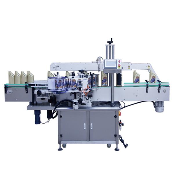 Automatický oboustranný štítkovací stroj na přední a zadní stranu