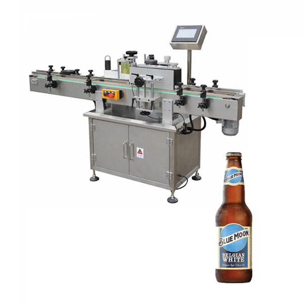 Stroj na označování lahví od piva