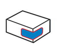 Štítek s rohovým kartonem 1