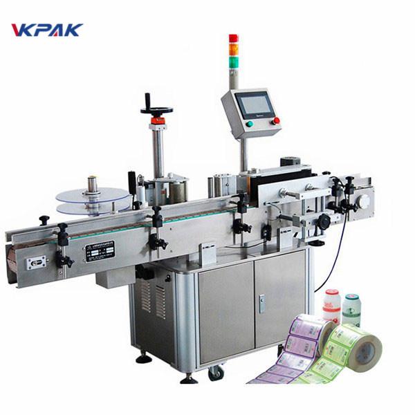Plně automatický vertikální stroj na označování kulatých lahví