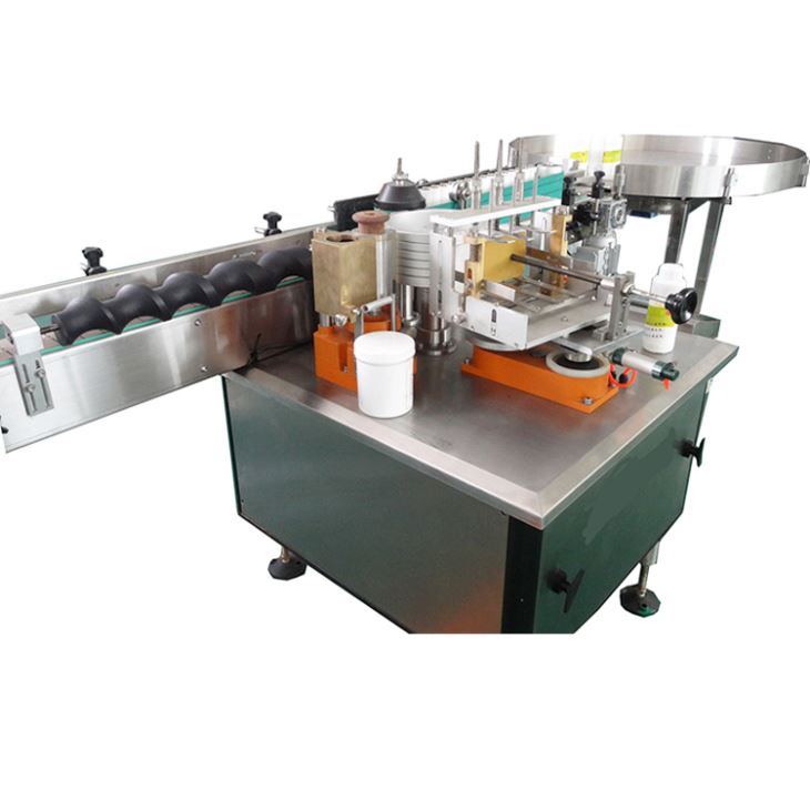 Plně automatický etiketovací stroj na etikety na alkoholové lepidlo