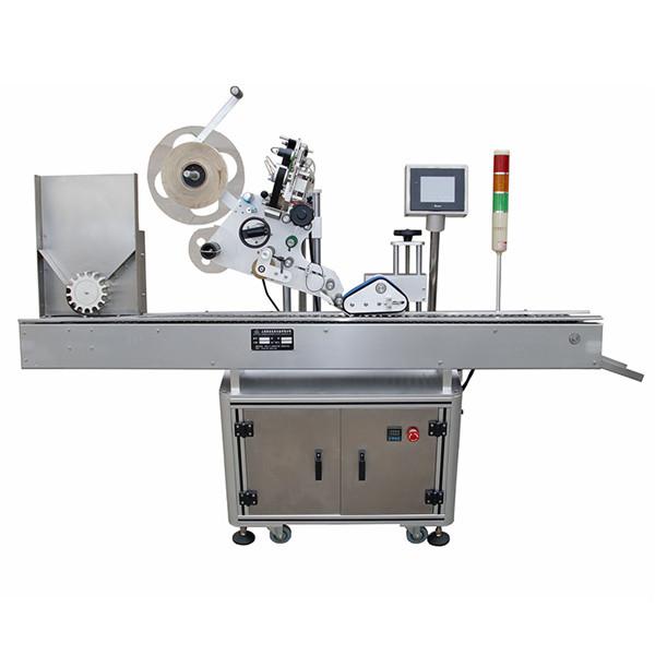 Plně automatický horizontální farmaceutický etiketovací stroj