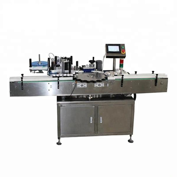 Vysokorychlostní automatický etiketovací stroj s rotační orientací polohy