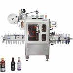 Stroj se smršťovacím rukávem lineárního typu s ovinutím kolem etiketovacího stroje