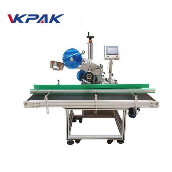 Automatický štítkovací stroj se stíracím papírem