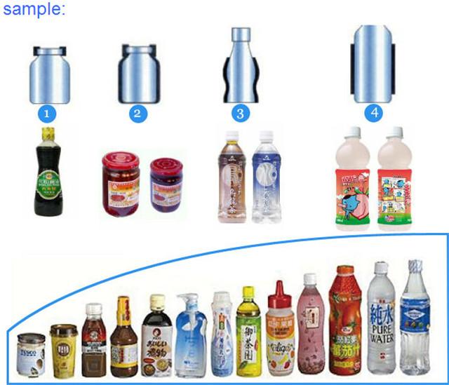 Vzorky konečných produktů smršťování štítků