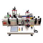 Stolní barva se může omotat kolem stroje na označování lahví