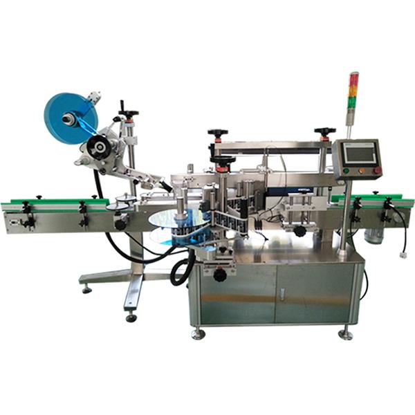 Stroj na označování horní a přední a zadní strany